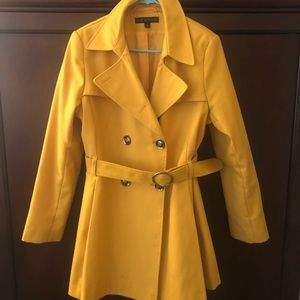 Via Spiga Yellow Coat